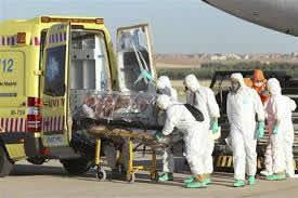 traslado de enfermo de ebola