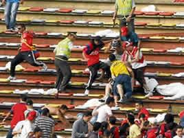 ira y agresividad en el futbol