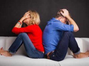 Motivos por los que se rompe una pareja