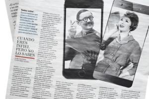 LA INFIDELIDAD ONLINE, ENTREVISTA PARA EL MUNDO PAPEL
