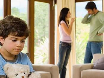 separación e hijos