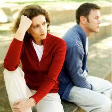 relación de pareja en crisis