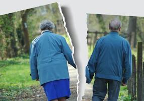 CÓMO AFRONTAR LA RUPTURA DE PAREJA DESPUÉS DE LOS 65
