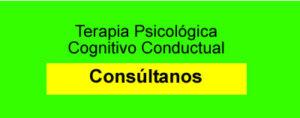 Terapia Psicológica Cogitivo Conductual