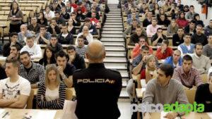 La personalidad y el no apto del candidato del policia municipal